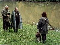 Honzík Erhart a Jarda Šembera nás posuzovali na vodě (MMŠ Luhačovice v roce 2002)