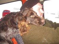 Choran (Vip) je věrný přítel a lovecký pomocník páníčka.