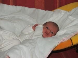 Vnučka Elenka.