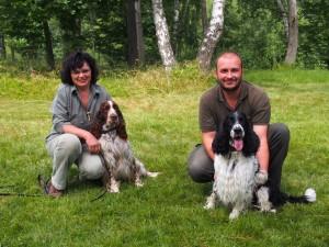 Dva nevlastní bratři - Giulian a Hubert z Větrné paseky - jejich matka je Borča z Větrné paseky.