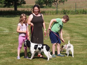 Sárinka se svou rodinou