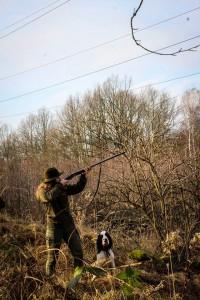 Dva lovci.