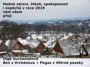 Obec, kde žije náš Pegas se svým kámošem Benem.