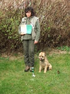 Malan Lovec z Dračína - BZ I.c, BZH I.., velmi milý poslušný pes, měl problém s výstřelem, ale nakonec jsme to dali.